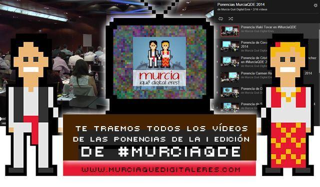 Vídeo ponencias #MurciaQDE