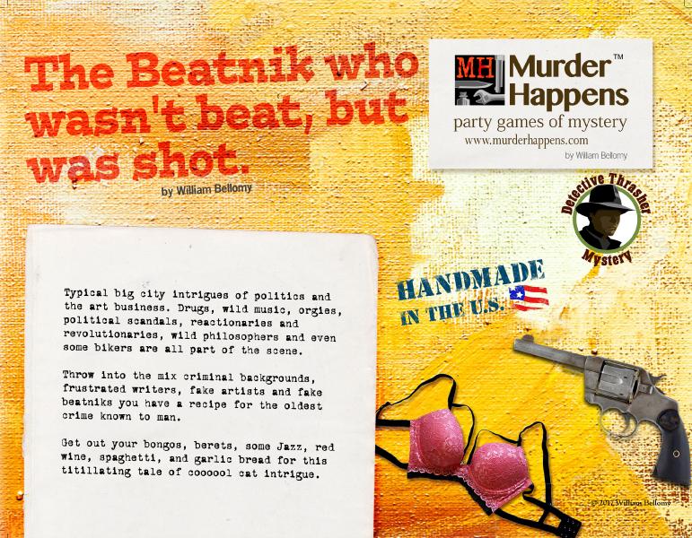 Beatnik murder mystery