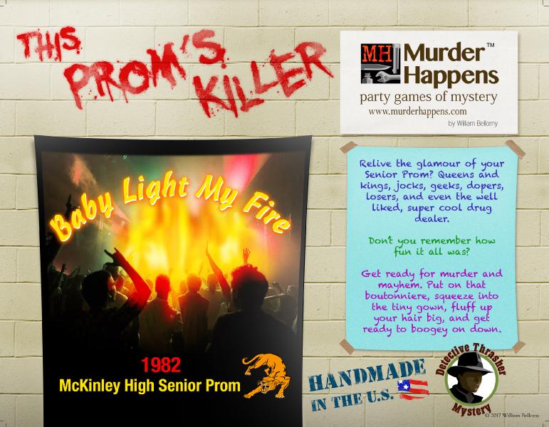 80s prom murder mystery