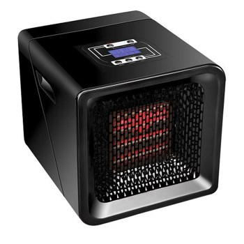 Redcore - Concept R-1 Infrared Indoor Room Heater - Black