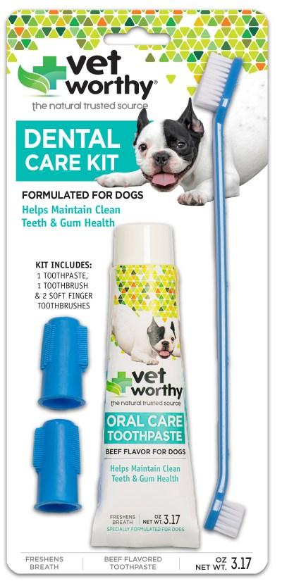 Vet Worthy Dog Dental Care Kit