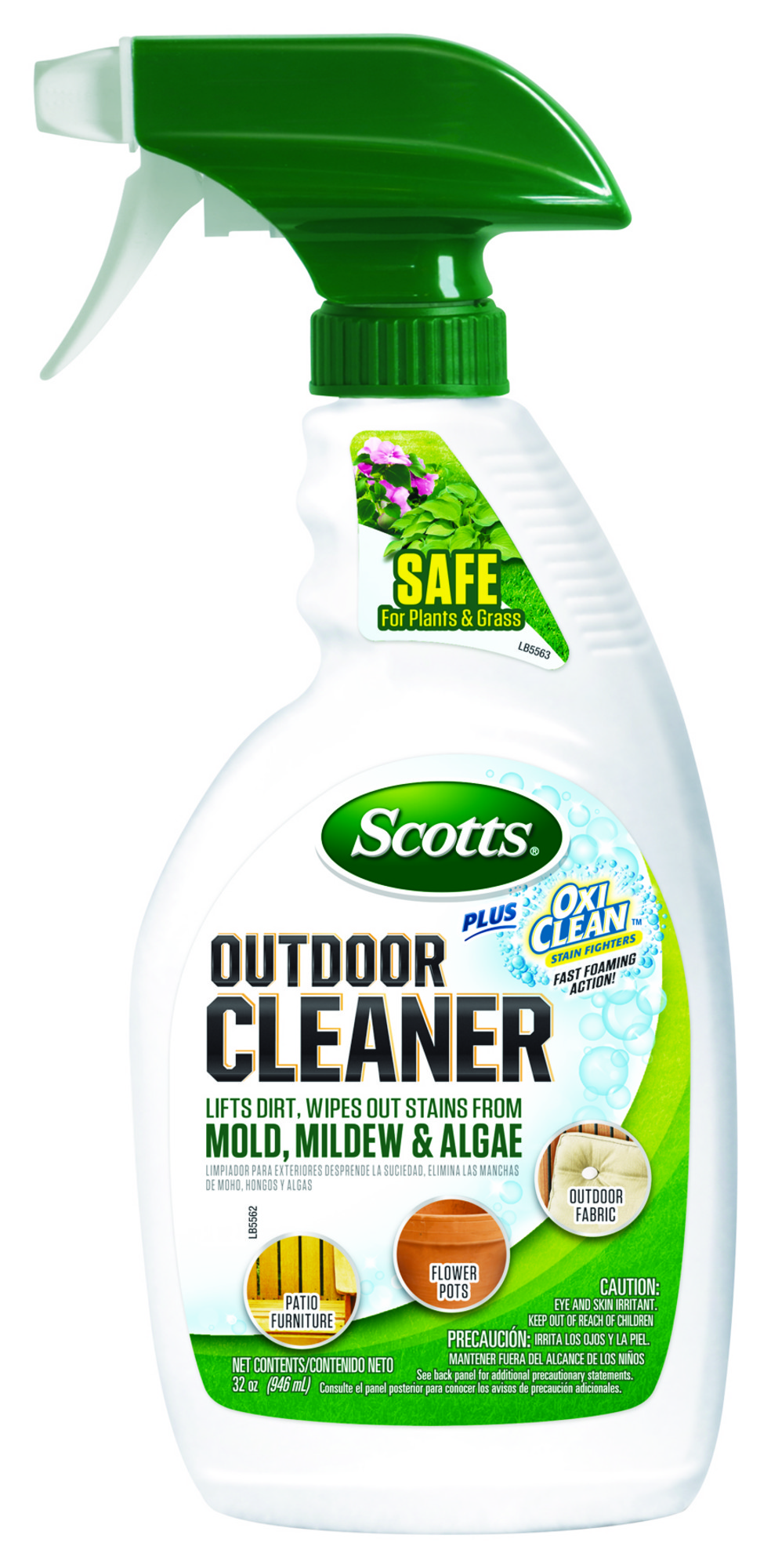 murdoch s scotts outdoor cleaner plus oxiclean ready to use