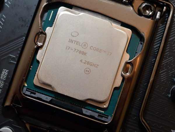 Overclock core i7 7700K