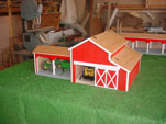 Roberts Toy Barn on table