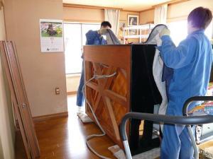 ピアノの遺品整理