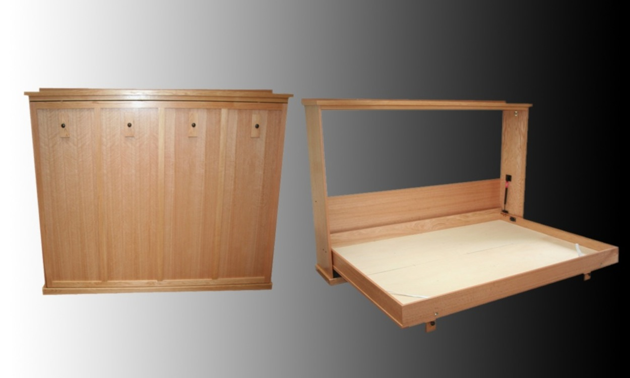 horizontal murphy bed design