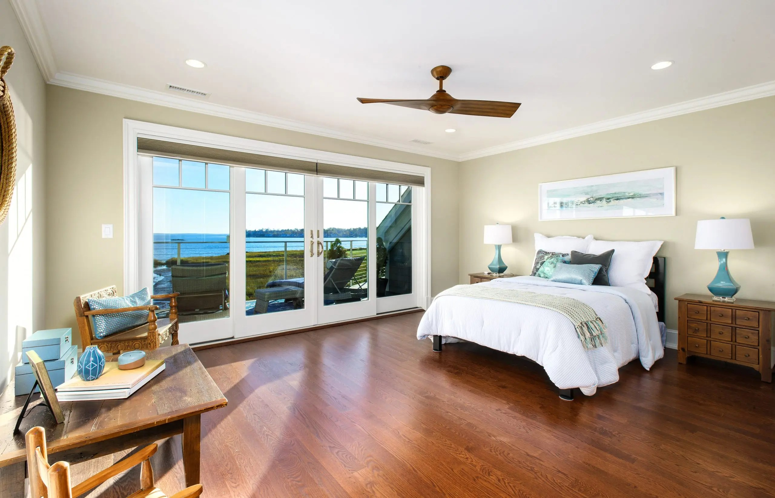 24- Another Lovely Guest Bedroom with Expansive Deck- Perfect for Sunbathing