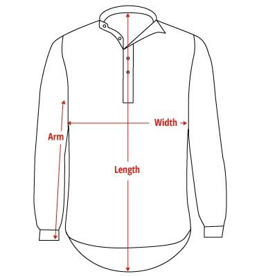 Grandfather Shirt Outline