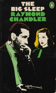 The Big Sleep, cover to 1976 Penguin edition