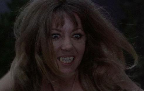 Ingrid Pitt as Carmilla in Hammer's The Vampire Lovers (1970)