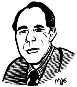 John Wyndham, by MJE