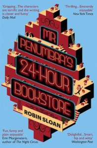 Mr Penumbra's 24 Hour Bookstore, cover