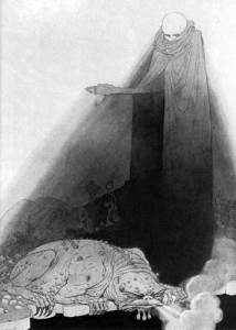 """Mung and the Beast of Mung"", by Sidney Sime"