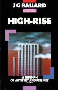 Cover to 1985 release of Ballard's High-Rise, by James Marsh