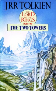 The Two Towers, cover by Roger Garland