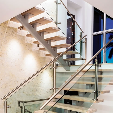 Mid Century Modern 3 205 Custom Home In Longboat Key Modern | Mid Century Modern Stair Handrail | Wrought Iron | Basement | Bannister | Modern Style | Contemporary Curved Staircase