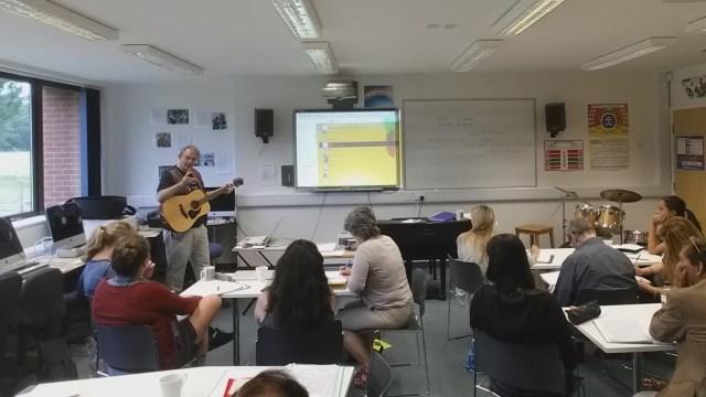Murray Webster Teaching London Songwriters Summer Camp