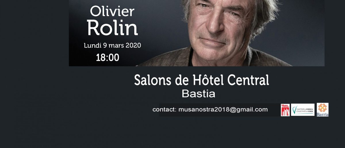 Permalien vers:Rencontre Olivier Rolin
