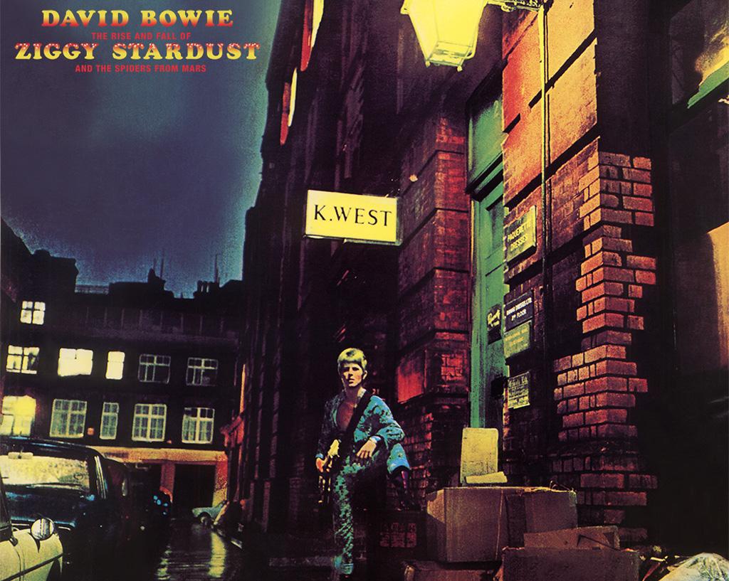 Pochette de l'album Ziggy Stardust