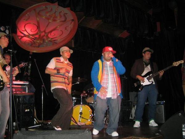 Boombox Saints playing live