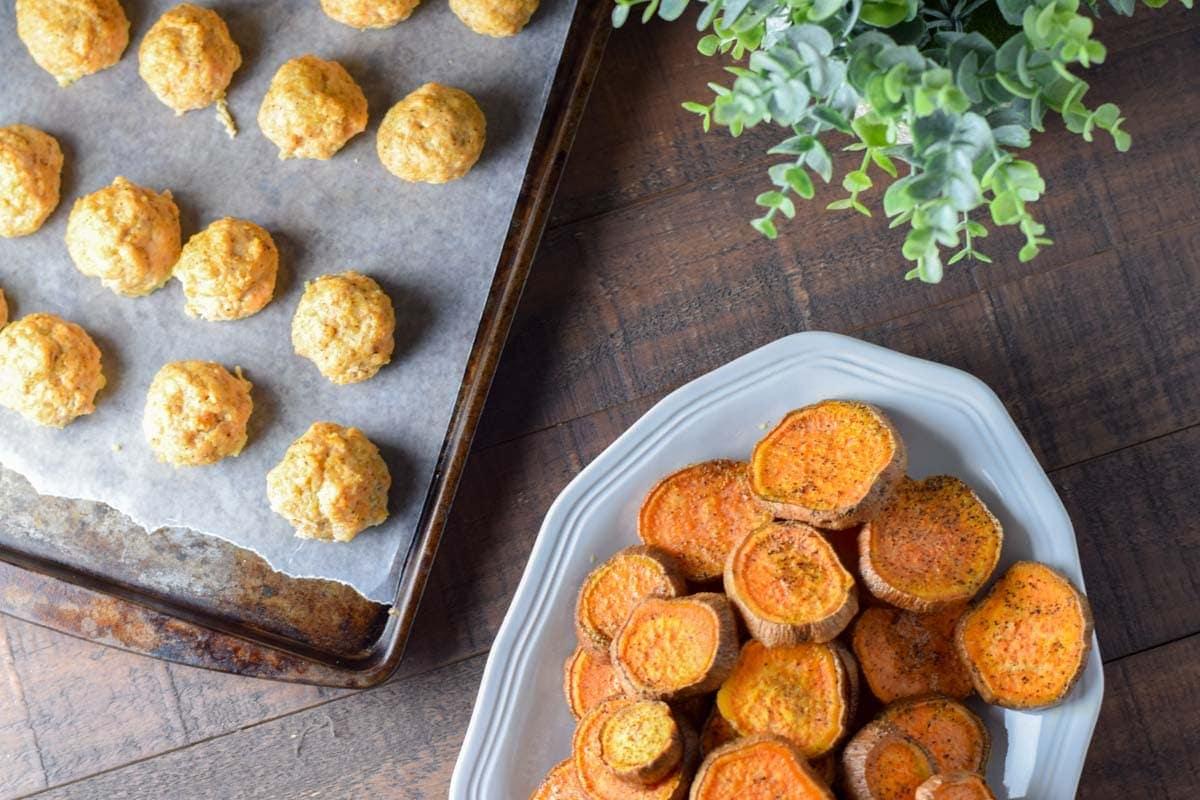 Turkey Quinoa Meatballs - A perfect meal prep recipe