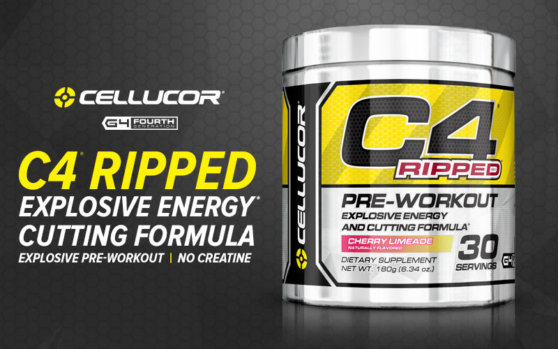 C4 Ripped By Cellucor Lowest Prices At Muscle Amp Strength