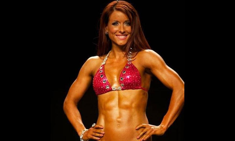champion bodybuilder angelasalvagno nude flexing