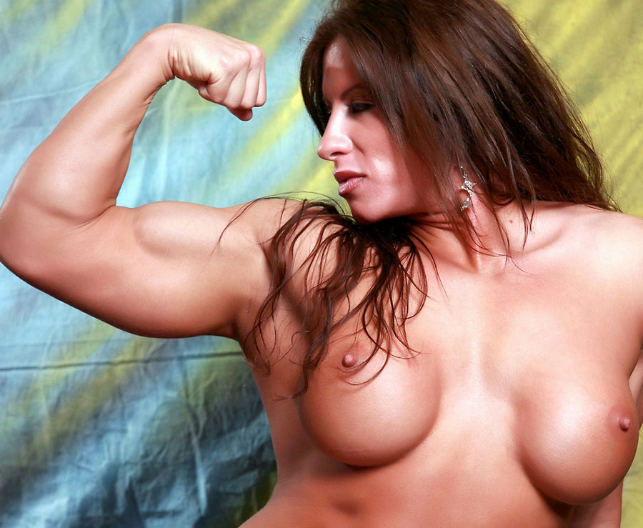 champion bodybuilder angelasalvagno nude flexing
