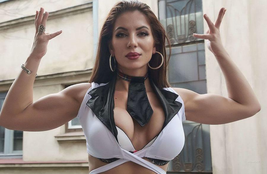 female bodybuilder cam girl krinasky