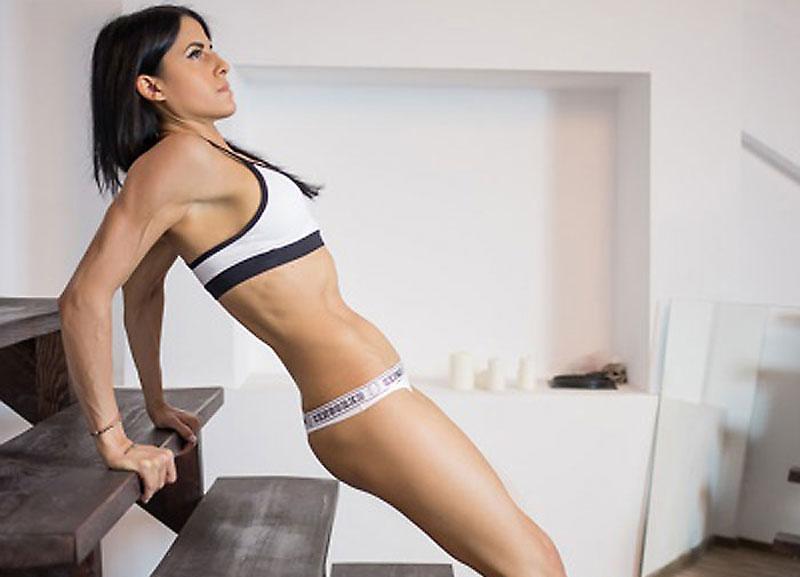 ripped fitness camgirl sandrablake