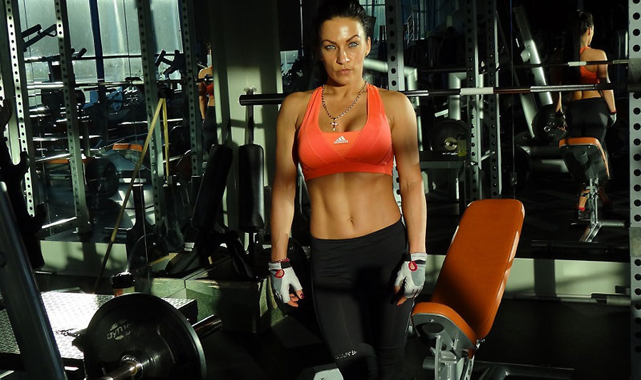 muscular fitness model dream_candy