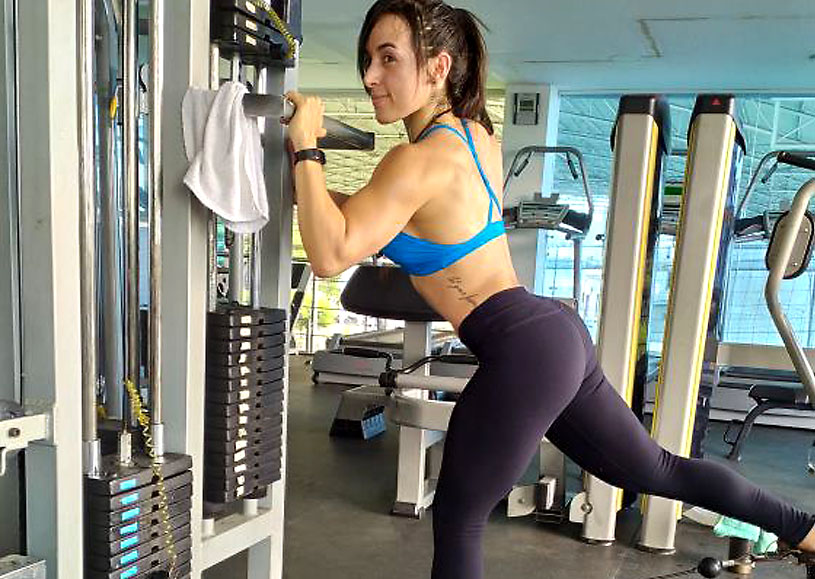 athletic camgirl evelinbrown from colombia
