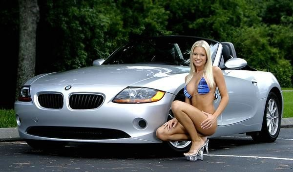 Bmw Babes Muscle Car Babes