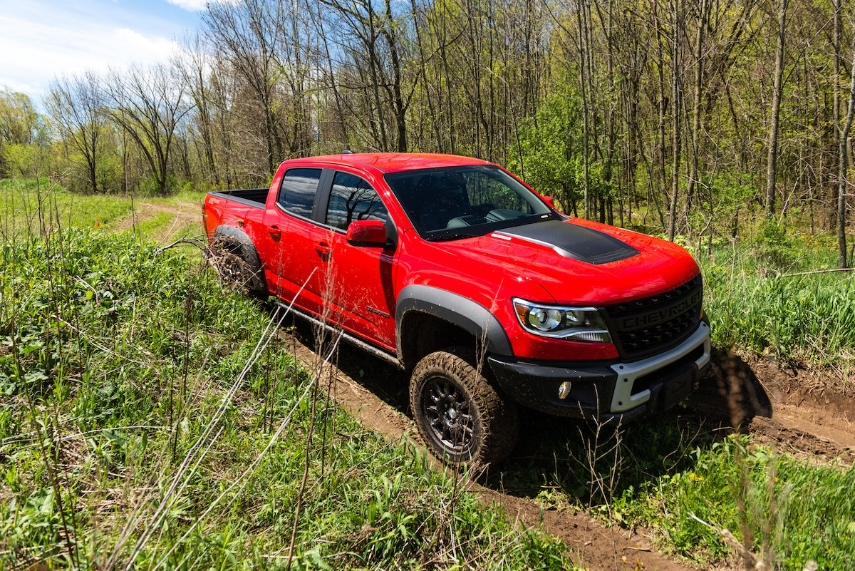 AEV Planning Special Package Above Chevrolet Colorado ZR2 ...