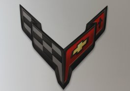 C8 Corvette Logo