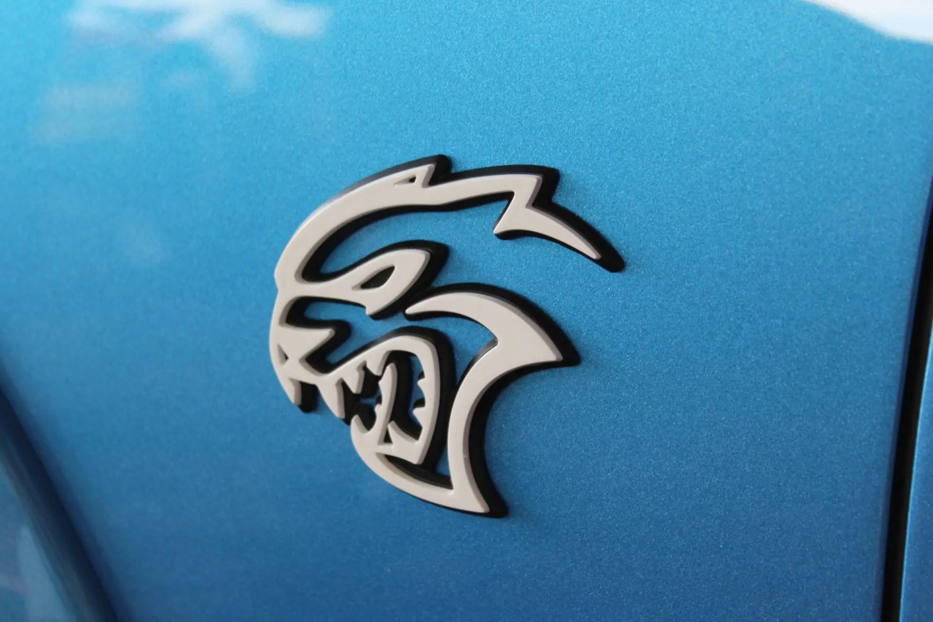 Hellcat V8 Engine Dodge Charger Daytona 50th Anniversary Edition