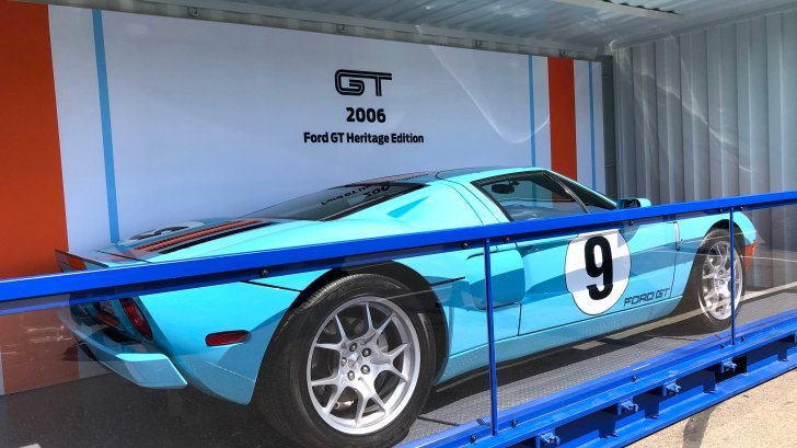 Ford Gt Heritage Editions Photo Gallery