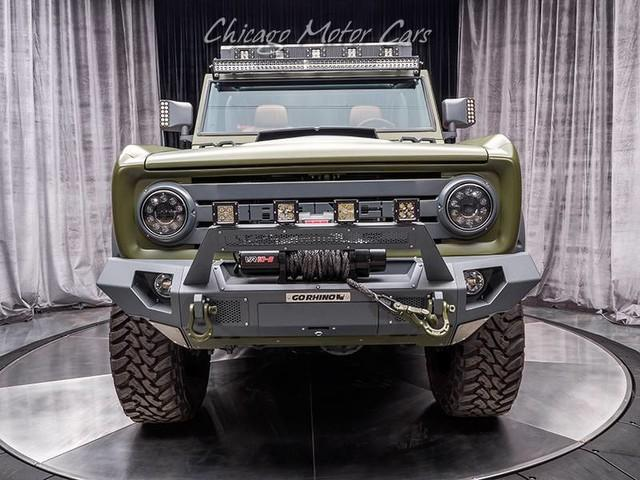 Ford Bronco Sema Build Features Concept Inspired Front End
