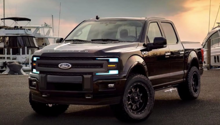 nextgeneration ford f150 rendered  muscle cars  trucks