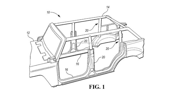 Ford Bronco Patent