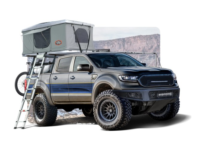 Ford Ranger Tremor Raptor SEMA