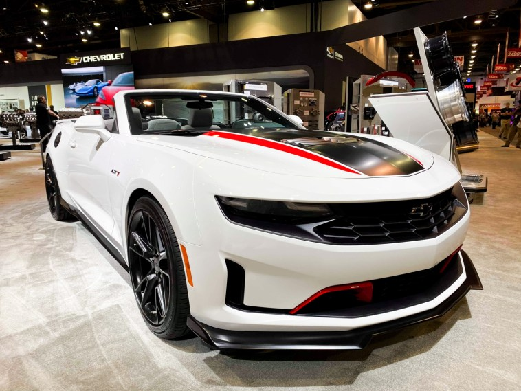 Sema Show 2020.Sema Show Chevrolet Camaro Lt1 Convertible Shown As A Concept