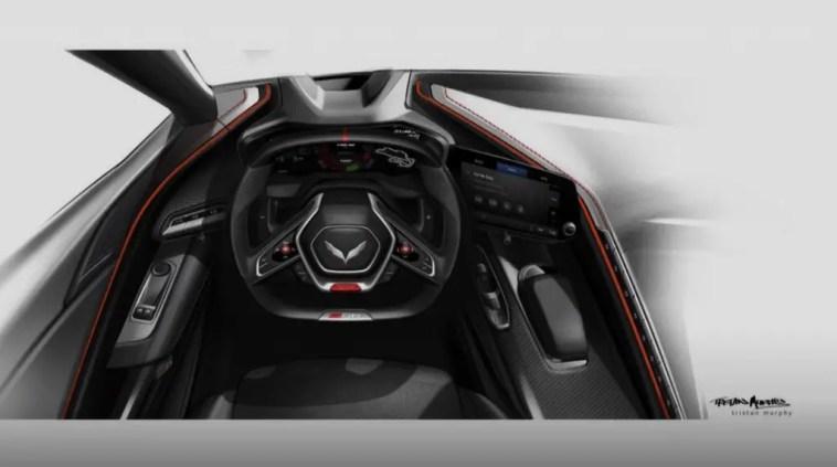 2022 C8 Corvette Z06 Interior Photo