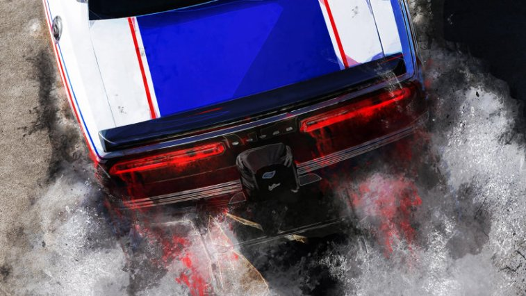 Dodge Challenger Drag Racer Teased Ahead Of Sema Press