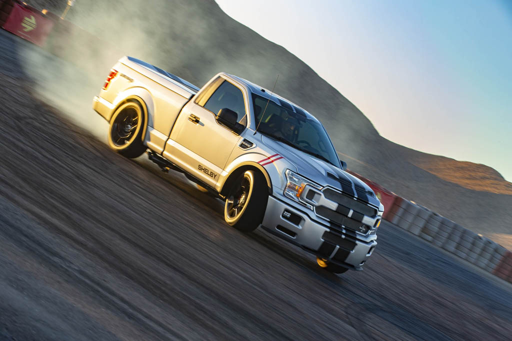 Shelby F150 Specs >> Shelby Super Snake Ford F 150 Beats Raptor By Over 300