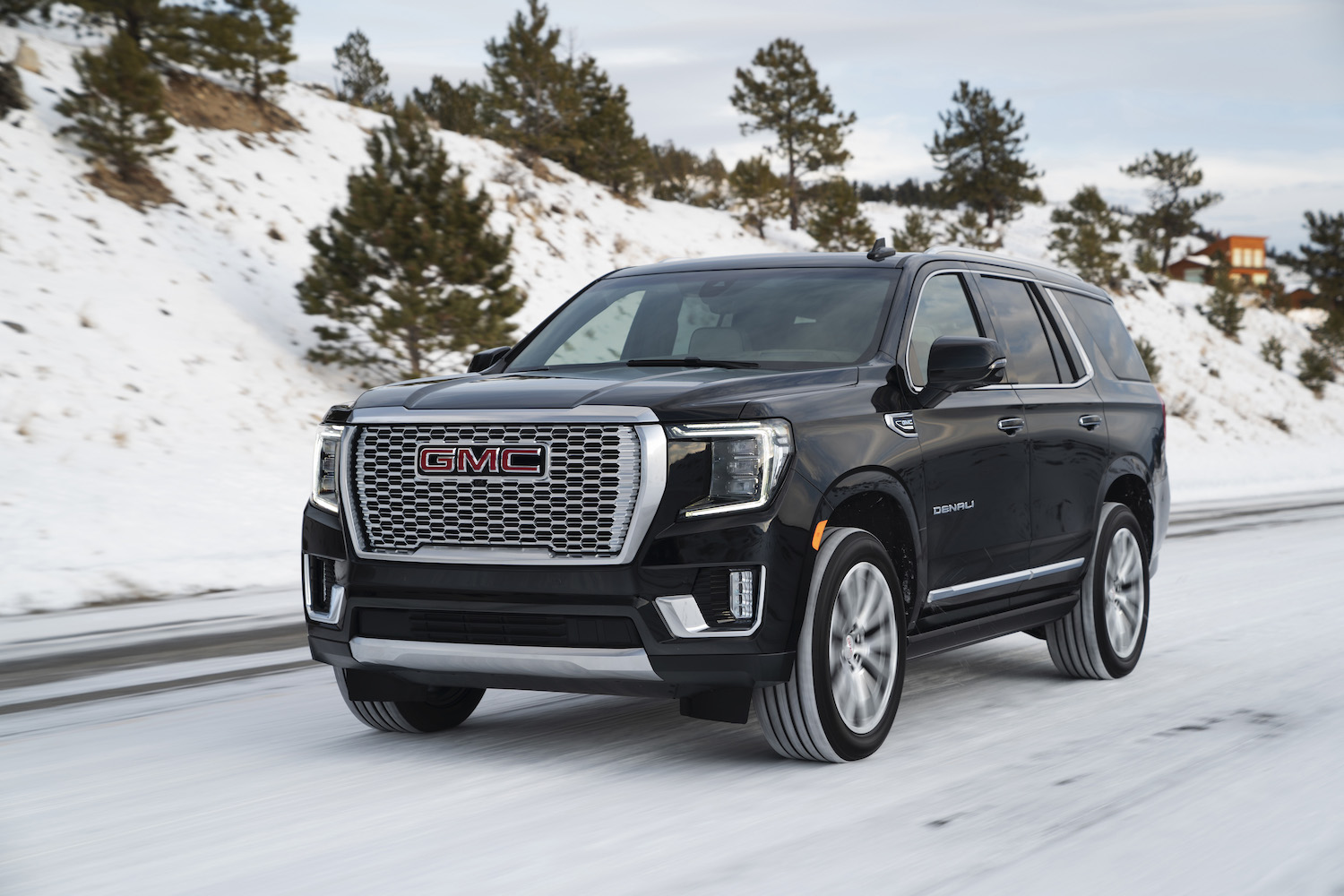 2021 gmc yukon denali delivers the delights  muscle cars