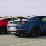 Camaro ZL1 vs Hellcat Redeye vs Shelby GT500 Video