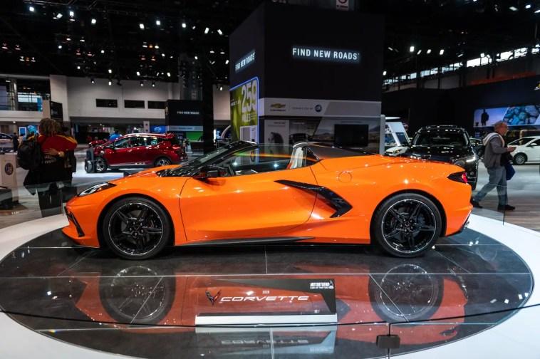 C8 Corvette Convertible