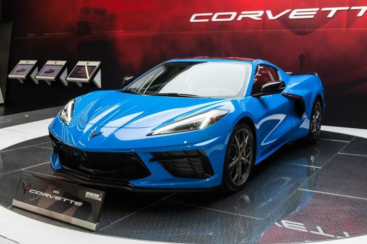 C8 Corvette Nurburgring Time