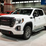 2021 2020 GMC Sierra 1500 AT4 CarbonPro Chicago Auto Show